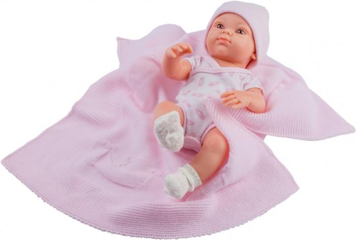 Куклы и одежда для кукол Paola Reina Кукла Бэби с пледом 32 см куклы и одежда для кукол paola reina кукла луис причастие 32 см