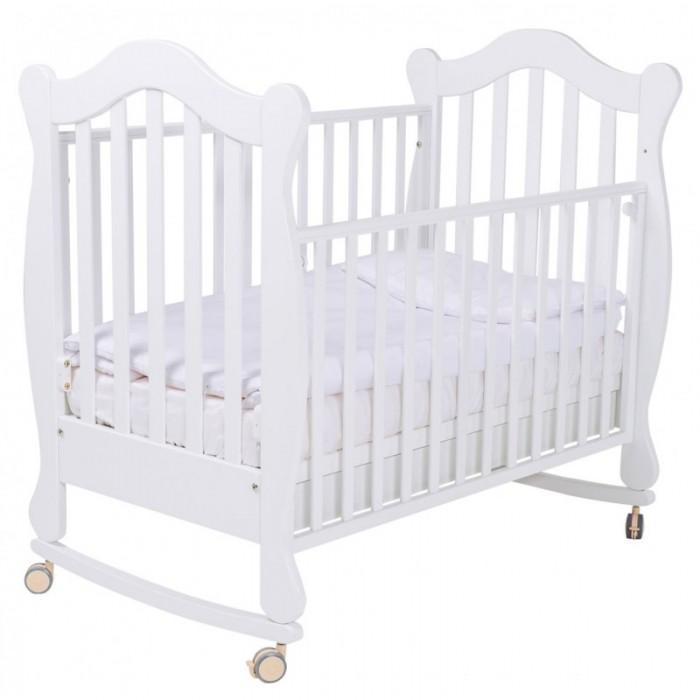 Детская мебель , Детские кроватки Papaloni качалка Favola 120х60 арт: 522726 -  Детские кроватки
