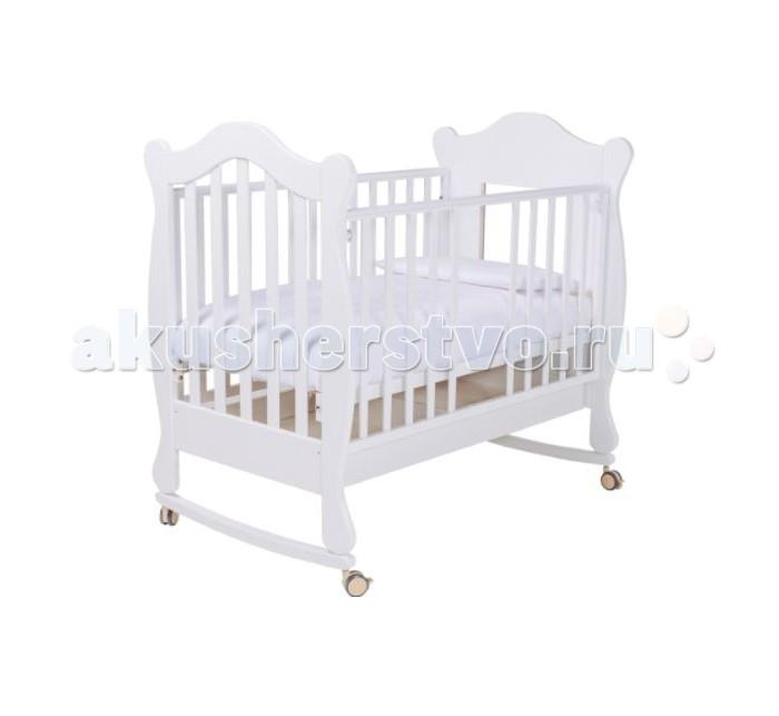 Детская мебель , Детские кроватки Papaloni качалка Finestra 120х60 арт: 521631 -  Детские кроватки