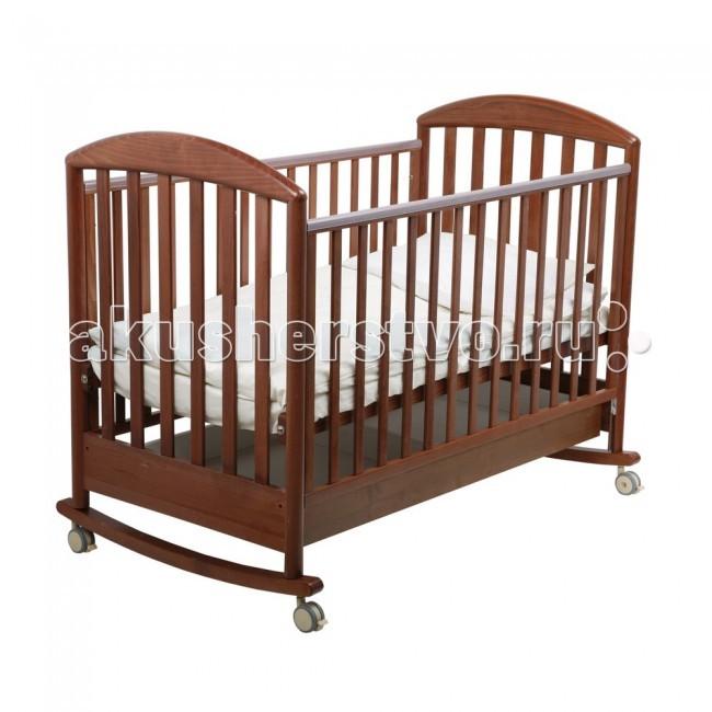 Детская мебель , Детские кроватки Papaloni Джованни качалка 125x65 арт: 2840 -  Детские кроватки