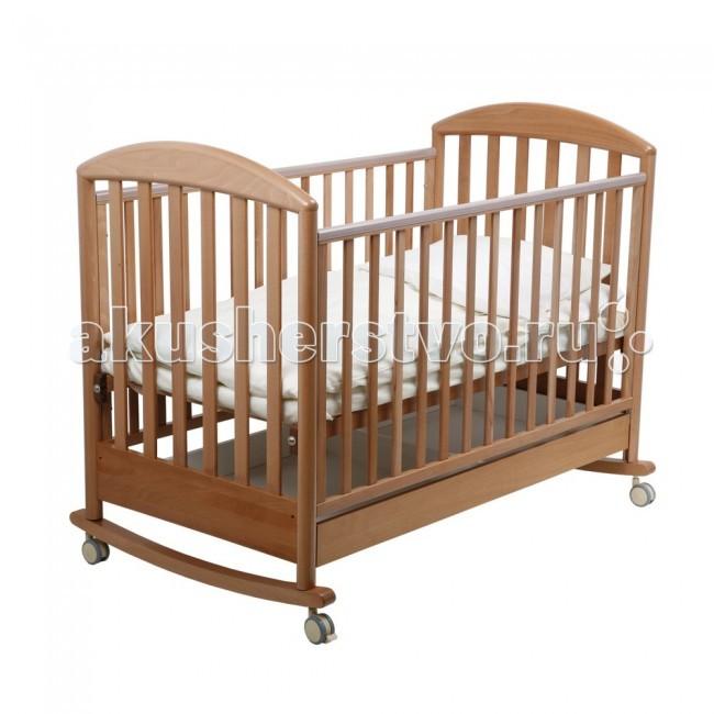 Детские кроватки Papaloni Джованни качалка 120х60  недорого