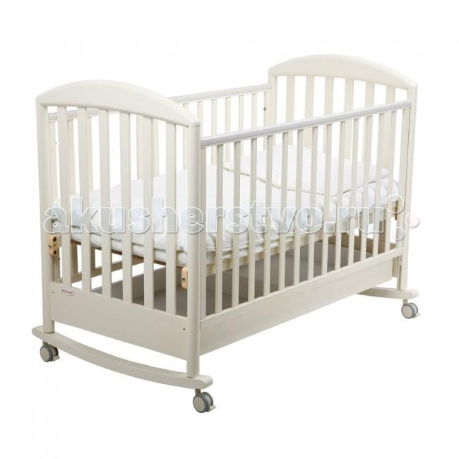 Картинка для Детская кроватка Papaloni Джованни качалка 120х60