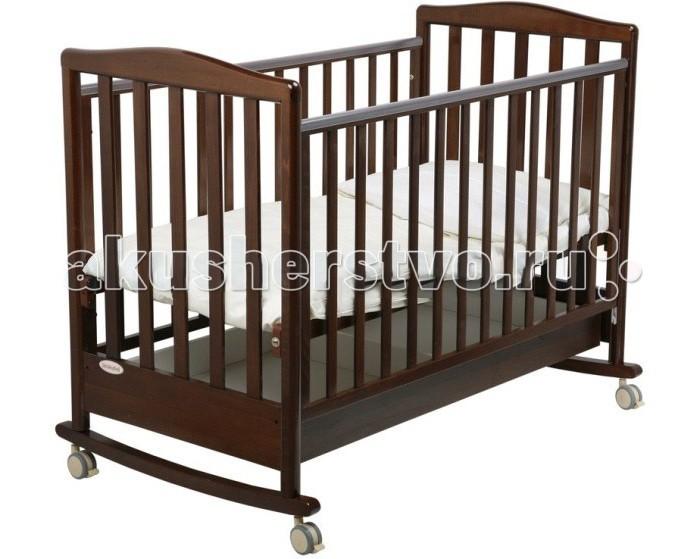 Детская мебель , Детские кроватки Papaloni Луи качалка 120x60 арт: 2842 -  Детские кроватки