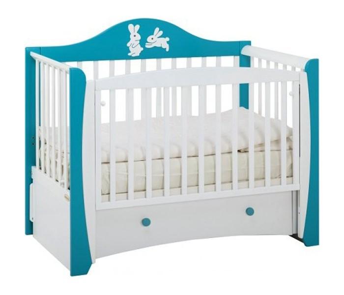 Детская кроватка Papaloni Olivia маятник