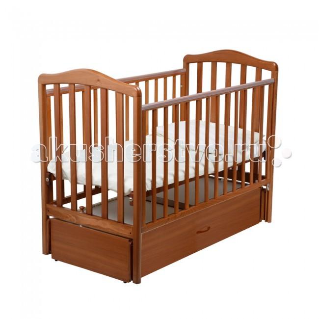 Купить со скидкой Детская кроватка Papaloni Винни маятник 120х60