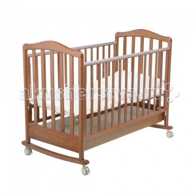 Картинка для Детская кроватка Papaloni Винни качалка 120х60