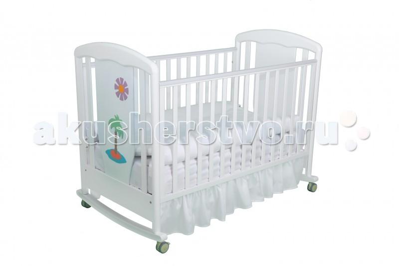 Детские кроватки Papaloni Vitalia качалка 125х65 детские кроватки гандылян габриэлла люкс качалка
