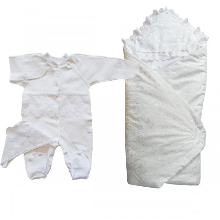 Детская одежда , Комплекты на выписку Папитто (3 предмета) 71-132 арт: 530701 -  Комплекты на выписку