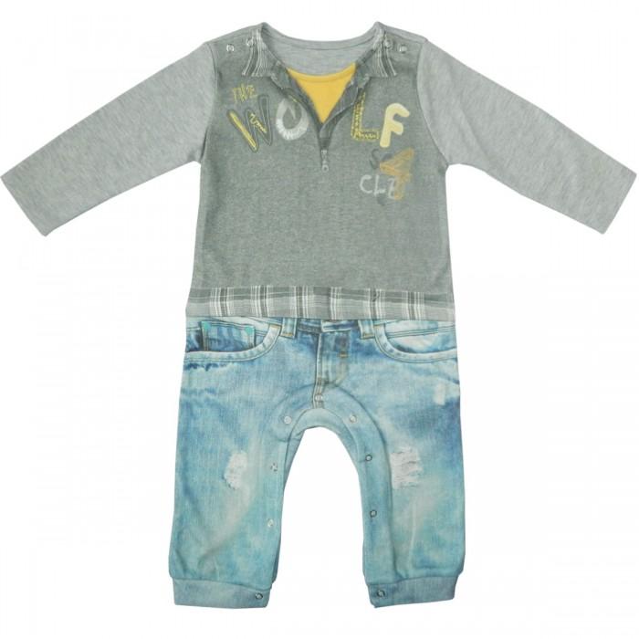 Комбинезоны и полукомбинезоны Папитто Комбинезон для мальчика Fashion Jeans 554-01, Комбинезоны и полукомбинезоны - артикул:519486
