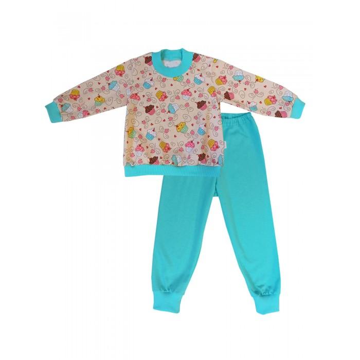 Комплекты детской одежды Папитто Комплект для девочки (Кофточка и штанишки) Чизкейк десерт б ю александров чизкейк творожный с ванилью 40г