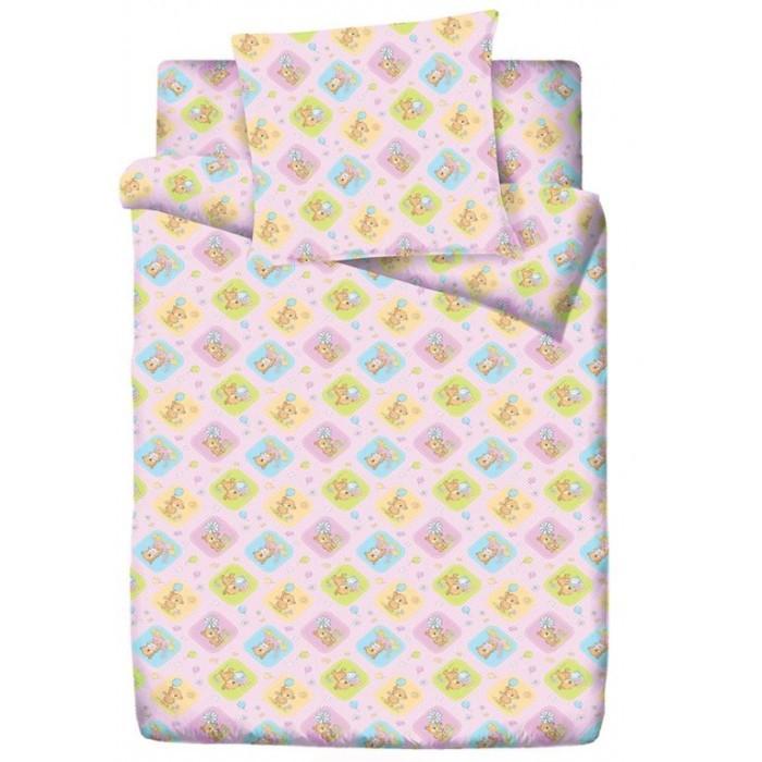Постельное белье Папитто Медвежата (3 предмета) постельное белье крошка я принцесса тиффани 3 предмета