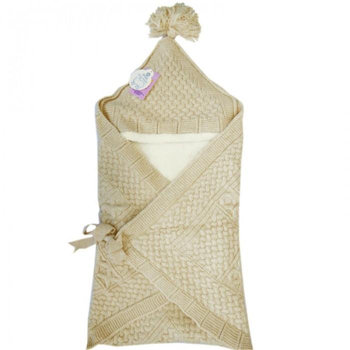 Демисезонный конверт Папитто одеяло вязаныйодеяло вязаныйДемисезонный конверт Папитто одеяло вязаный  Вязаное конверт-одеяло 6214 - для новорожденного малыша станет прекрасным аксессуаром в детской кроватке или коляске. В развернутом состоянии конверт превращается в теплое одеяло (100х100 см), которым можно воспользоваться прохладным вечером на прогулке, а также брать с собой в путешествие или на визит к врачу.  Конверт превосходно удержит тепло и согреет малыша в прохладное время года. Верхняя часть вязаная, выполнена из натуральной шерсти и акрила, утеплитель - теплый велсофт или как его еще называют евромех - материал искусственный, при этом имеет исключительно положительные характеристики. Велсофт обладает антибактериальными свойствами - ему не страшны грибок и бытовые насекомые, он очень стойкий к износу, долгое время не теряет своей первоначальной формы, а главное прекрасно согревает и при этом имеет хорошую воздухопроницаемость.  Состав:  - Верх: шерсть 20%, акрил 60%, эластан 10%, полиамид 10%.  - Подкладка: велсофт (полиэстер 100%)  Уход: Ручная стирка, автомат 30 градусов, не отбеливать, без отжима.<br>