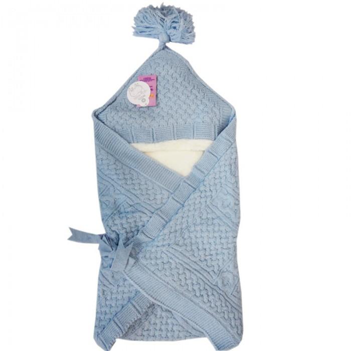 Детская одежда , Демисезонные конверты Папитто одеяло вязаный арт: 357630 -  Демисезонные конверты