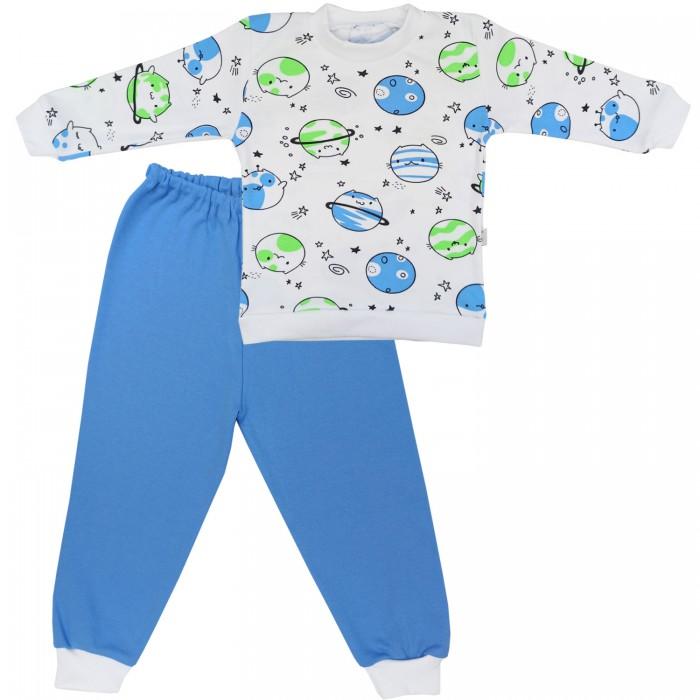 Купить Домашняя одежда, Папитто Пижама детская Планетки 33-5872