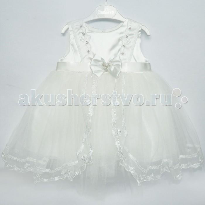 Детская одежда , Детские платья и сарафаны Папитто Нарядное платье 4887 арт: 474781 -  Детские платья и сарафаны