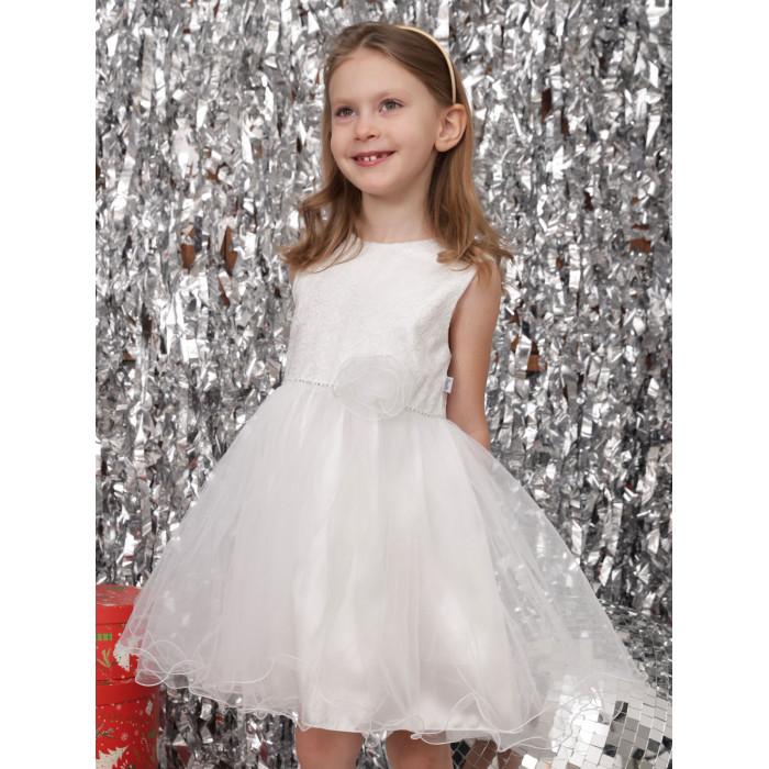 Детская одежда , Детские платья и сарафаны Папитто Нарядное платье 4914 арт: 474796 -  Детские платья и сарафаны