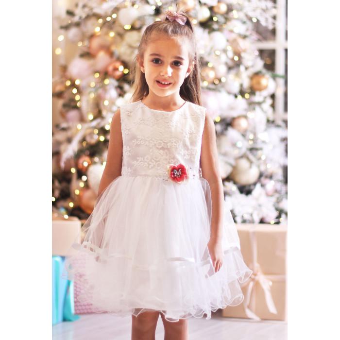 Детская одежда , Детские платья и сарафаны Папитто Нарядное платье 4935 арт: 474821 -  Детские платья и сарафаны