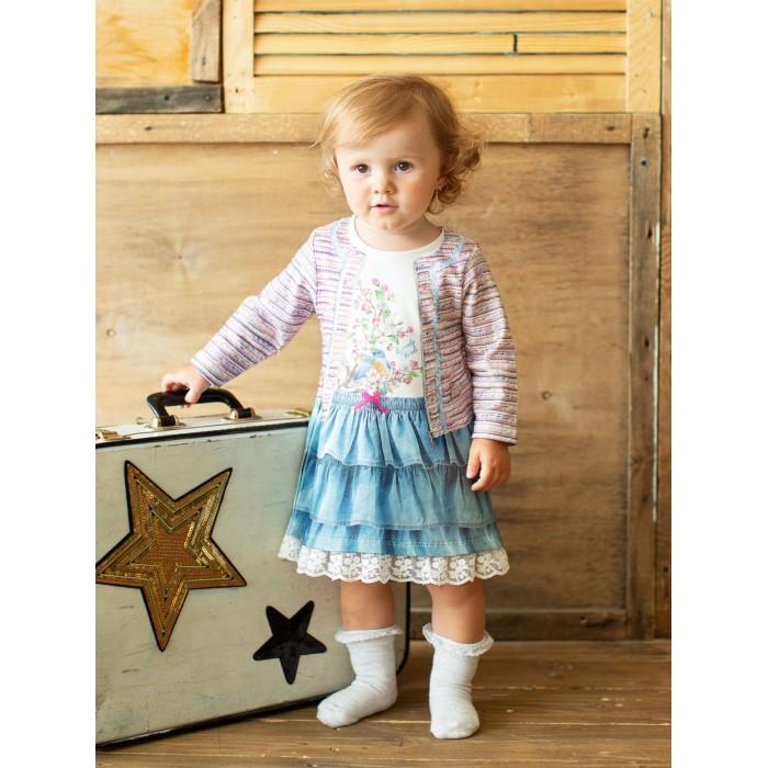 Платья и сарафаны Папитто Платье с длинным рукавом Fashion Jeans 576-07