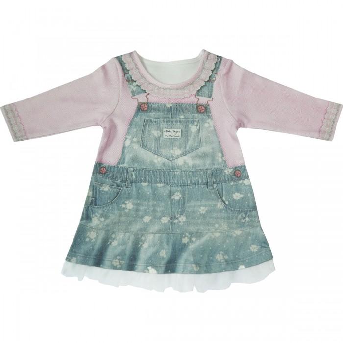 Платья и сарафаны Папитто Платье с длинным рукавом Fashion Jeans 577-07