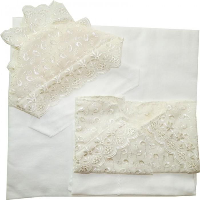 Комплекты на выписку Папитто распашонка и чепчик шитьевой (6 предметов) распашонка детская морозко фланель 18