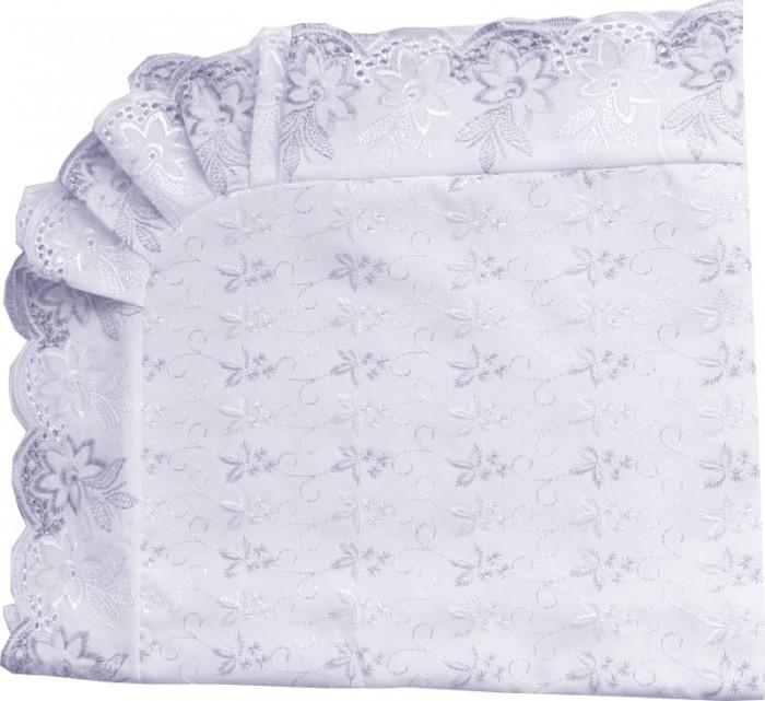 Крестильная одежда Папитто Уголок кружевное полотно с шитьем