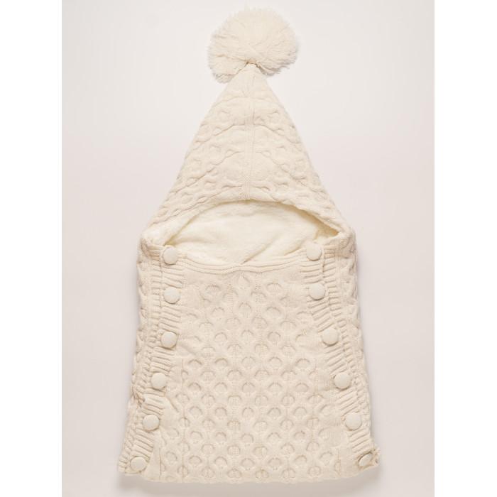 Детская одежда , Демисезонные конверты Папитто вязаный на пуговицах арт: 357605 -  Демисезонные конверты
