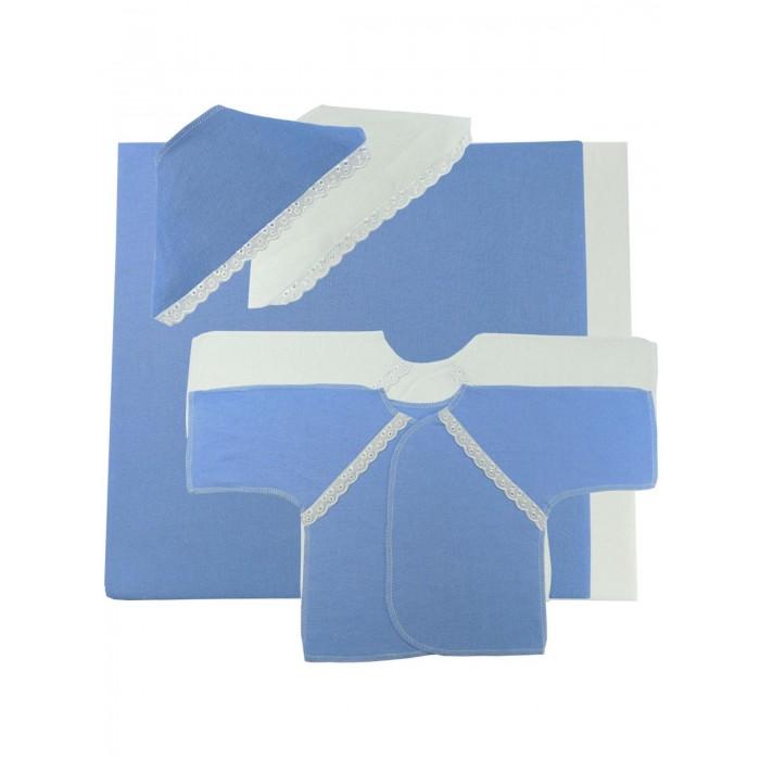 Комплекты на выписку Папитто (6 предметов) распашонка детская морозко фланель 18