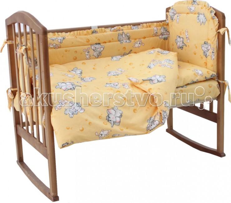 Комплекты в кроватку Папитто 7010 (6 предметов) комплекты в кроватку папитто плюшевый мишка 6 предметов