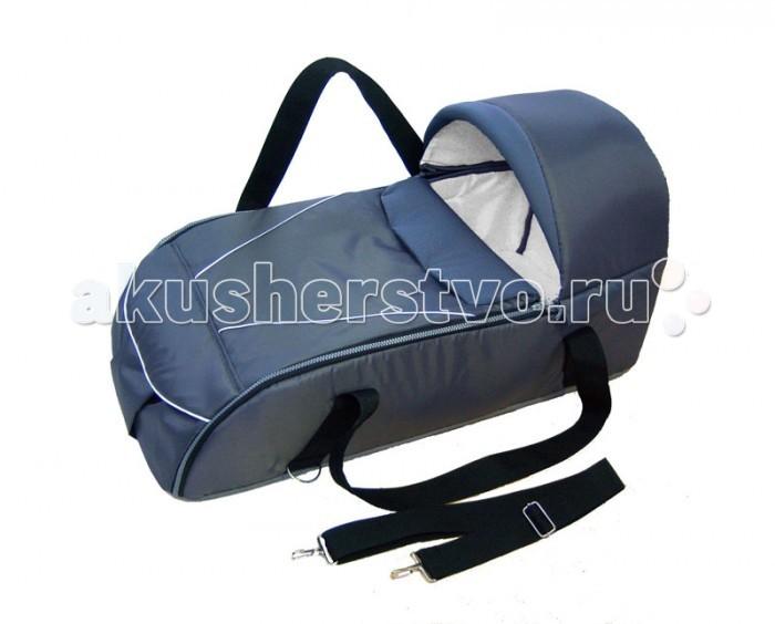 Сумка-переноска Папитто 9765597655Легкая, удобная сумка-переноска. Подходит в любую коляску-трансформер, а также классику.  Благодаря внешнему материалу из нейлона защищает от ветра и дождя.   Внутренний слой выполнен из натурального хлопка.   Жесткие борта и капюшон всегда поддерживают форму сумки.  Размер (ДxШxВ) : 70 x 30 x 18 см.  Рекомендовано для детей от 0 до 6 месяцев (до 6 кг)<br>