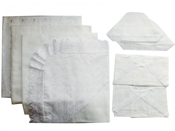 Комплекты на выписку Папитто кружевной (8 предметов)