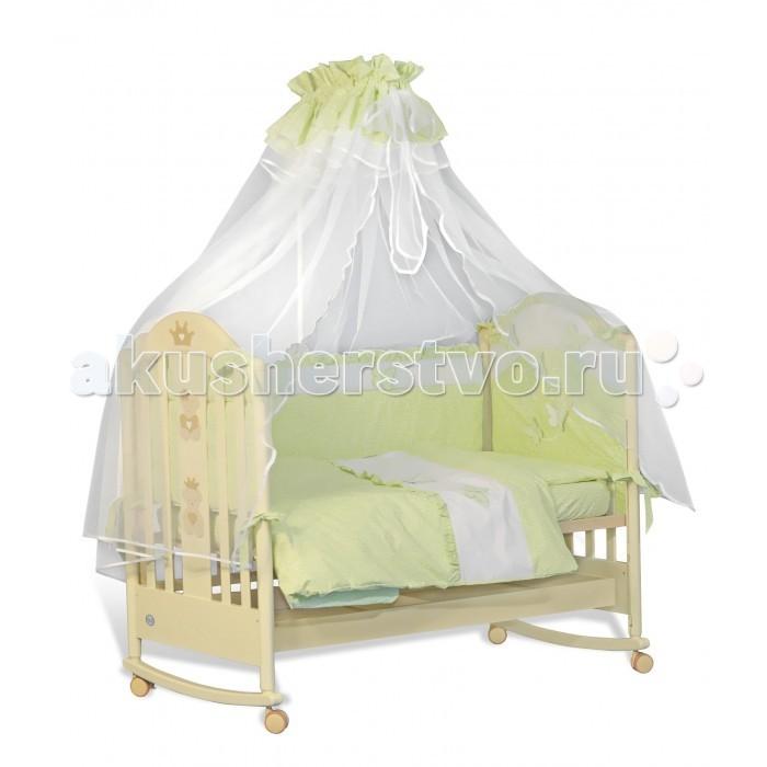 Комплект в кроватку Папитто Бабочки (7 предметов)