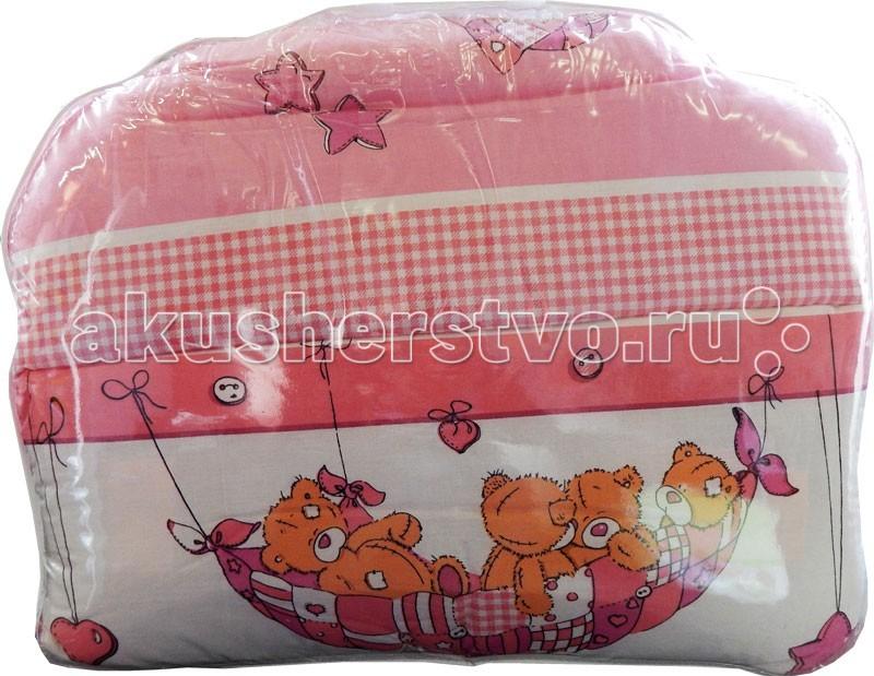 Комплекты в кроватку Папитто Комбинированный (7 предметов) балдахин на детскую кроватку купить в пензе