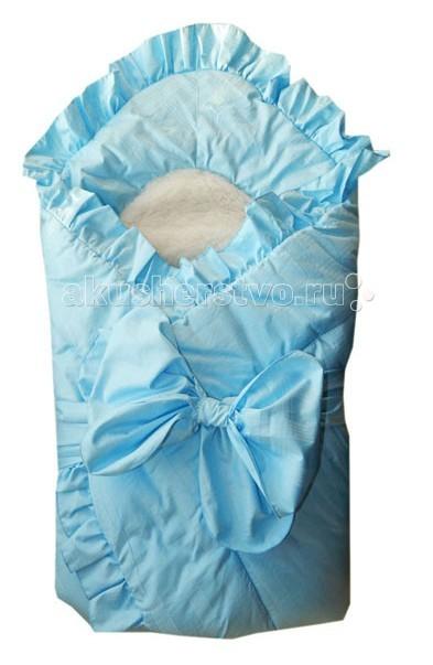 Конверты на выписку Папитто Конверт-одеяло с завязкой и меховой вставкой конверт на выписку зимой