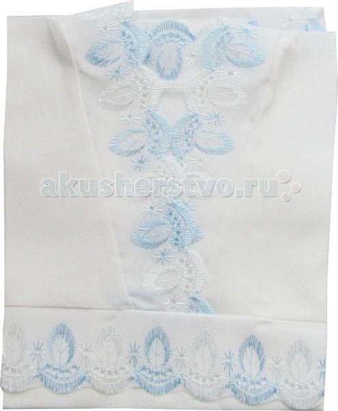 Крестильная одежда Папитто Крестильная рубашечка крестильная одежда арго уголок с оборочкой 009 2н
