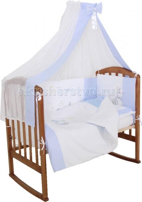 Комплекты в кроватку Папитто Мотоцикл (7 предметов) балдахин на детскую кроватку купить в пензе