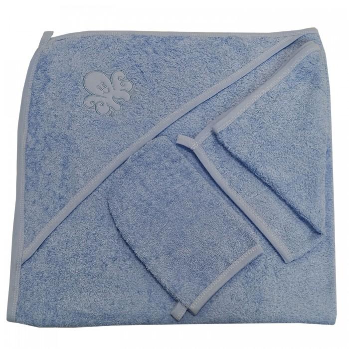 где купить  Полотенца Папитто Набор для купания 3 предмета с вышивкой  по лучшей цене