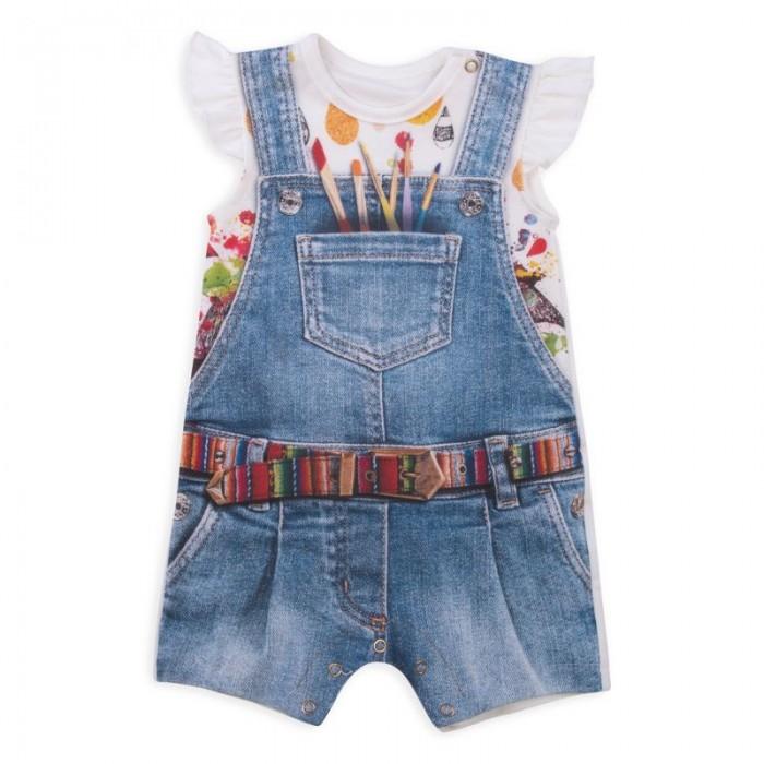 Папитто Песочник для девочки Fashion Jeans 543-02
