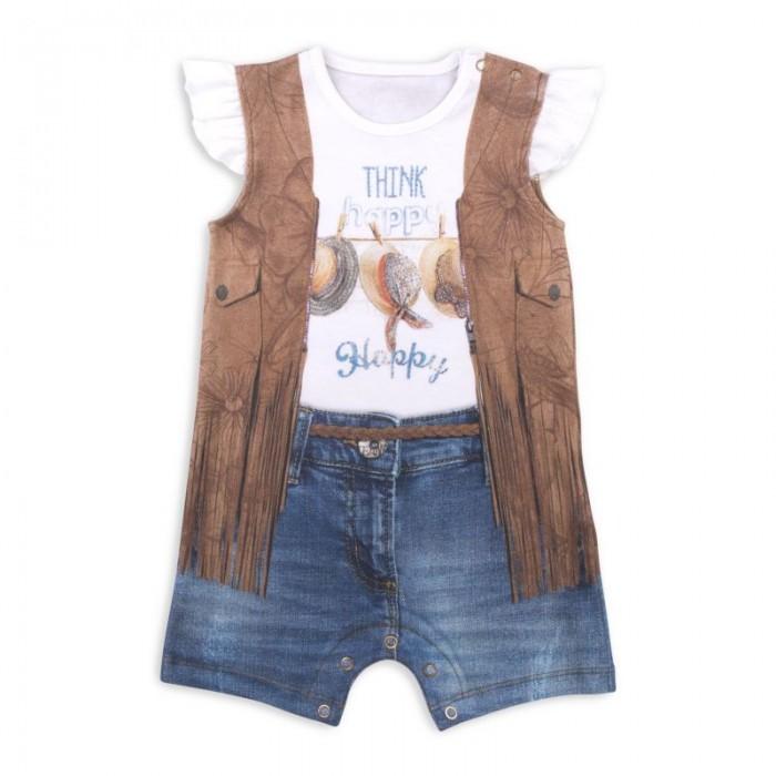 Папитто Песочник для девочки Fashion Jeans 545-02