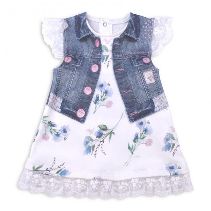 Детские платья и сарафаны Папитто Платье Fashion Jeans 571-03