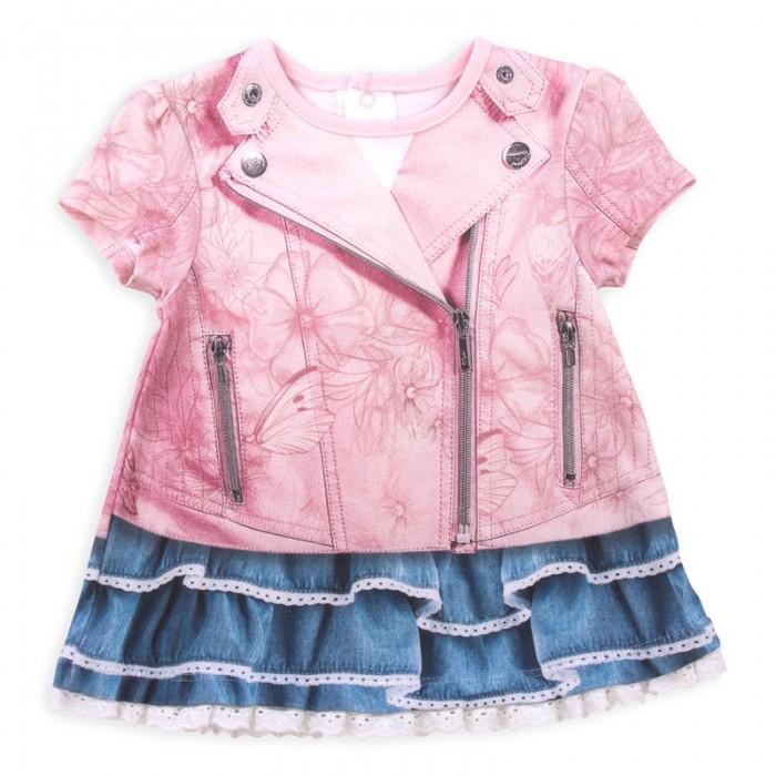 Детские платья и сарафаны Папитто Платье Fashion Jeans 572-03