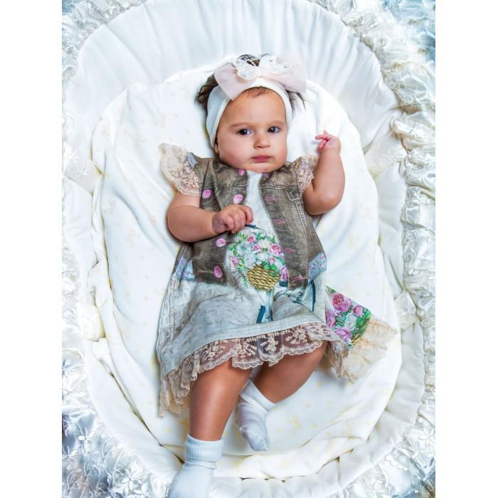 Детские платья и сарафаны Папитто Платье Fashion Jeans 573-03