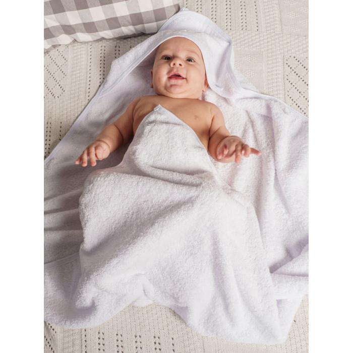 Полотенца Папитто Полотенце для купания с уголком 100х100