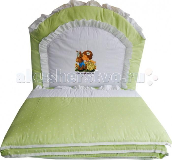 горшки папитто детский с аппликацией Бортики в кроватку Папитто раздельный комбинированный с аппликацией