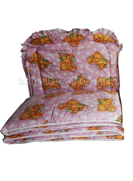Бортики в кроватку Папитто раздельный низкий детские кроватки kitelli kito orsetto качалка