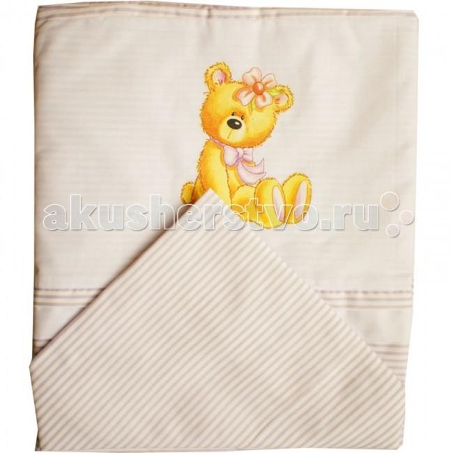 горшки папитто детский с аппликацией Постельное белье Папитто с аппликацией (3 предмета)