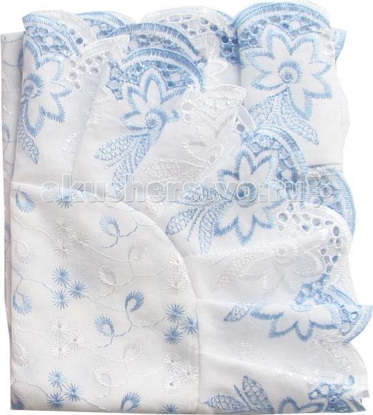 Крестильная одежда Папитто Уголок кружевное полотно с шитьем крестильная одежда арго уголок с оборочкой 009 2н