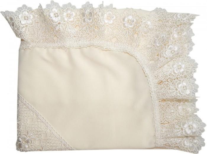 Крестильная одежда Папитто Уголок на выписку с гипюром