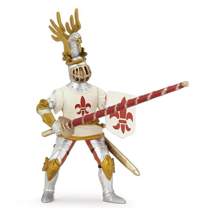Игровые фигурки Papo Игровая реалистичная фигурка Рыцарь с символом Флер де Лис