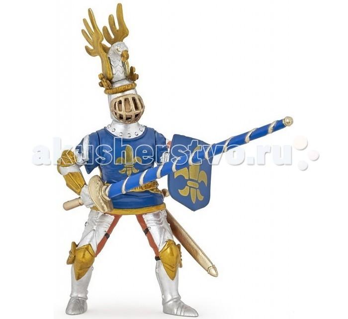 Игровые фигурки Papo Игровая реалистичная фигурка Рыцарь с символом Флер де Лис игровые фигурки papo фигурка лошадь с символом флер де лис