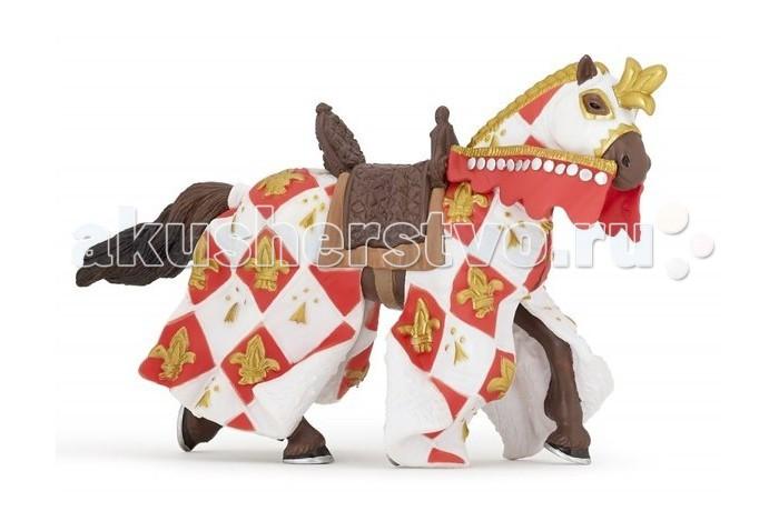 Игровые фигурки Papo Фигурка Лошадь с символом Флер де Лис